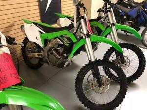 2017 Kawasaki KX250F - Demo - SAVE $2399!!!