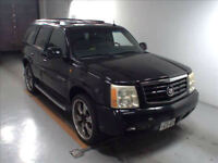 FRESH IMPORT 2006 CADILLAC ESCALADE 8 SEATER AUTOMATIC BLACK