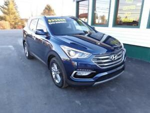 2018 Hyundai Santa Fe Sport SE only $242 bi-weekly all in!