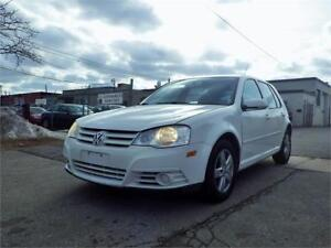 SOLD!!! 08 VW GOLF 5-SPEED MANUAL! AUX/MP3/CD! CERTIFIED!