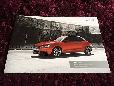 Audi A1 Brochure 2011 - Oct 2010 issue
