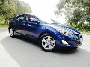 2012 Hyundai Elantra MD Elite Blue 6 Speed Sports Automatic Sedan Glenelg East Holdfast Bay Preview