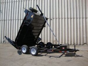 5 Ton Heavy Duty Dump Trailers by Miska Trailers