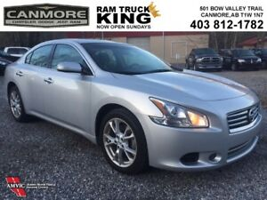 2014 Nissan Maxima SV | LEATHER | SUNROOF | LOW KMS | BACK UP CA
