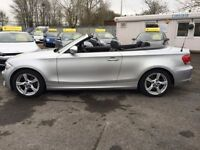 BMW 1 SERIES 2.0 118D SPORT 2d AUTO 141 BHP FULL LEATHER, SAT N (silver) 2012