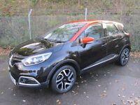 Renault Captur 1.5 Dynamique MediaNav DCi 90 Turbo Diesel 5DR (black / arizona roof) 2014