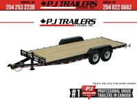 "2019 PJ 20' x 6"" Channel Equipment Trailer, 14K GVWR Winnipeg Manitoba Preview"