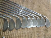 Set of golf clubs i irons