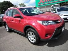 2014 Toyota RAV4 ASA44R GX (4x4) Red 6 Speed Automatic Wagon Mount Gravatt Brisbane South East Preview