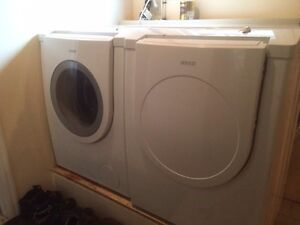 Matching front load washer/dryer