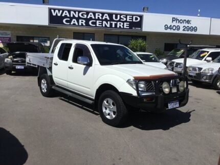 2009 Nissan Navara D40 ST-X (4x4) White 6 Speed Manual Dual Cab Pick-up Wangara Wanneroo Area Preview