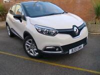 Renault Captur 1.5dCi Dynamique Manual SUV Cream/Black Two Tone 2014