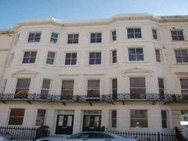 5TH floor bright furnished modern studio includes council tax + water rates. By seafront.BN31JE