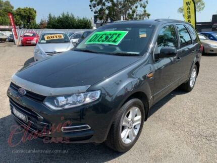 2012 Ford Territory SZ TX (RWD) Grey 6 Speed Automatic Wagon Cabramatta Fairfield Area Preview