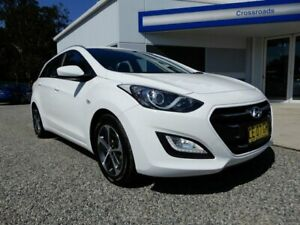 2015 Hyundai i30 GD Active Tourer White 6 Speed Sports Automatic Wagon Glendale Lake Macquarie Area Preview