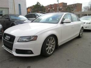 2009 Audi A4 2.0T Quattro on winter tires/ Sport package.