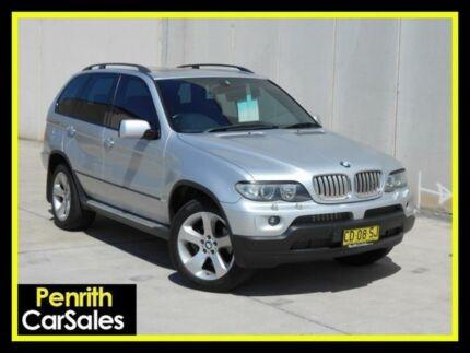 2005 BMW X5 E53 4.4I Silver 6 Speed Sports Automatic Wagon