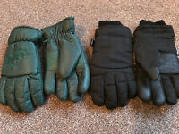 2 x pairs mens skis gloves (price is for both)