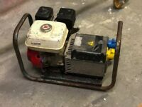 Honda 2.4kva 110/240v generator
