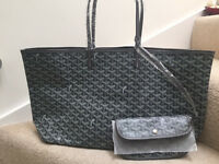 Goyard tote handbag variety colours wth coin purse