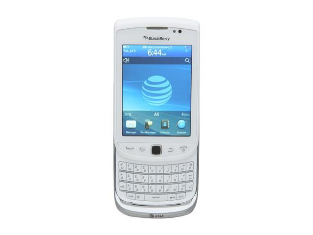 BlackBerry Torch White 3G Unlocked GSM Smart Phone w/ Full QWERTY Keyboard / Wi-