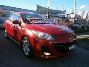 2009 Mazda 3 BL Maxx Sport Red 5 Speed Automatic Sedan Preston Darebin Area Preview