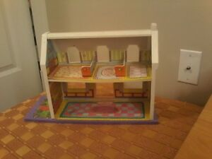 Doll Toy House, Kitchen, Wardrobe