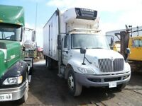 2011 International 4300 4x2, Used Reefer Van