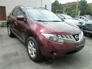 2009 Nissan Murano No Accident/Cruise Control/Big screen radio.