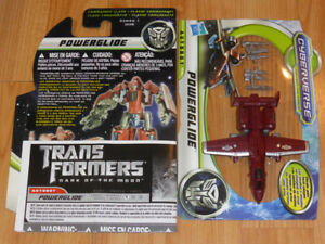 TRANSFORMERS THE MOVIE DARK OF THE MOON POWERGLIDE MWC