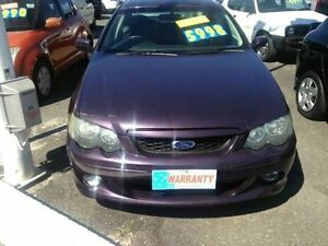 2005 Ford Falcon BF XR6 Purple Semi Auto Sedan Greenslopes Brisbane South West Preview