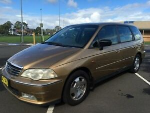 2000 Honda Odyssey V6L (6 Seat) Gold 5 Speed Sequential Auto Wagon Revesby Bankstown Area Preview