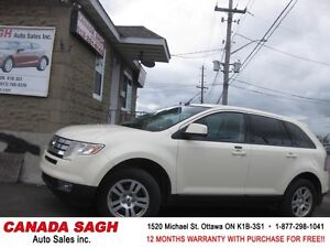 2008 Ford Edge AWD, 148km , 12M.WRTY+SAFETY $6990