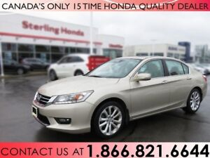 2015 Honda Accord Sedan TOURING | V-6 | 1 OWNER | NO ACCIDENTS