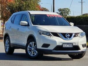 2015 Nissan X-Trail T32 ST X-tronic 2WD White 7 Speed Constant Variable Wagon Wodonga Wodonga Area Preview