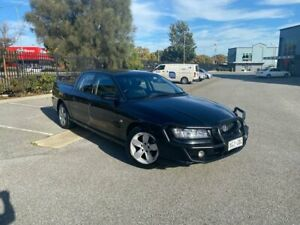 2005 Holden Crewman VZ Storm S Black 4 Speed Automatic Utility Mile End South West Torrens Area Preview