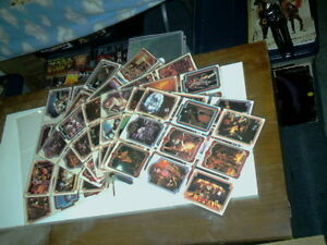 COMPLETE 1978 Kiss trading card set