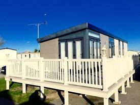 Cheap luxury static caravan for sale, fishing lake, heated swimming pool, dog friendly, Hastings
