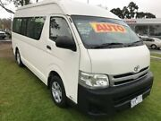 2012 Toyota Hiace TRH223R MY12 Commuter High Roof Super LWB White 4 Speed Automatic Bus Ferntree Gully Knox Area Preview