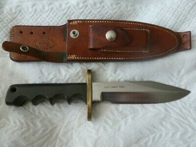 RANDALL MODEL 15 AIRCREW NAMED SOLINGEN FIGHTING KNIFE