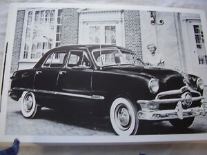1950 ford custom 4 door 12 x 18 large picture photo for 1950 ford custom 4 door