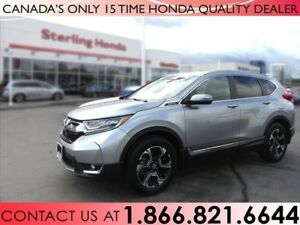 2017 Honda CR-V TOURING   AWD   1 OWNER   NO ACCIDENTS   LOW KM'