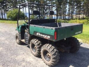 POLARIS RANGER 2006 700 EFI 6 x 6 SIDE BY SIDE
