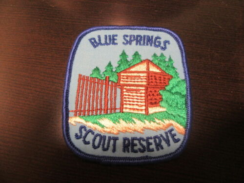 Blue Springs Scout Reserve Canada Pocket Patch         LK