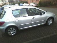 Pug 307 - 1.6L Low mileage, very reliable. Well looked after owned in family since 2009