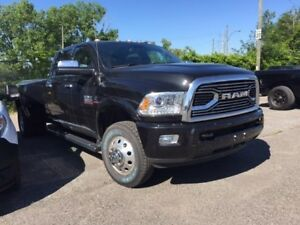 Ram 3500 LIMITED CREWCAB 8 PIEDS BOX CUMMINS DIESEL 2017