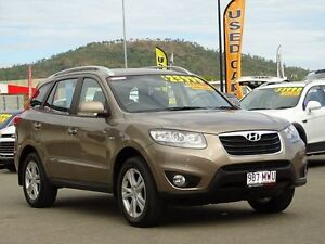 2010 Hyundai Santa Fe CM MY10 Highlander Bronze 6 Speed Sports Automatic Wagon Garbutt Townsville City Preview