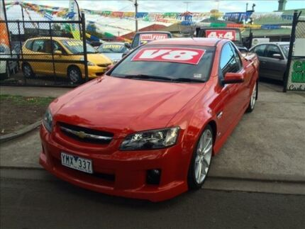 2008 Holden Commodore VE SS-V 6 Speed Automatic Utility Footscray Maribyrnong Area Preview