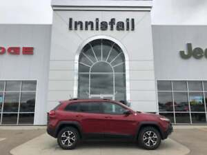 2014 Jeep Cherokee Trailhawk 4x4 Loaded Local Accident Free Trad