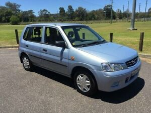 2002 Mazda 121 Metro Shades Blue 5 Speed Manual Hatchback West Gosford Gosford Area Preview